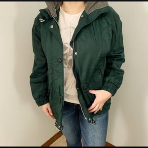 Jackets & Blazers - Hunter green coat